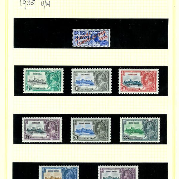 1935SJubileecomp250stamps