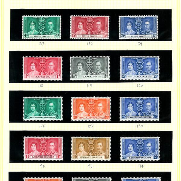 1937CoronationOmnibus202stamps
